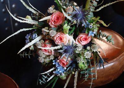 bruidsboeket fotografie: Inge van der Heijden