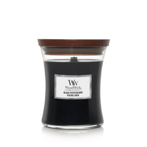 Woodwick geurkaars 'Black Peppercorn'
