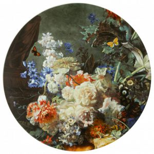 Wandbord Bloemenpracht